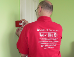 ire alarm servicing fire alarm inspection Cannock fire alarm repair fire alarm
